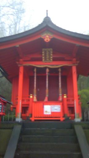 九頭龍神社本宮に参拝する
