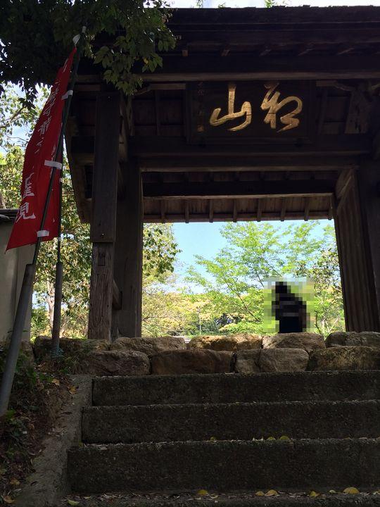 宝林寺の山門