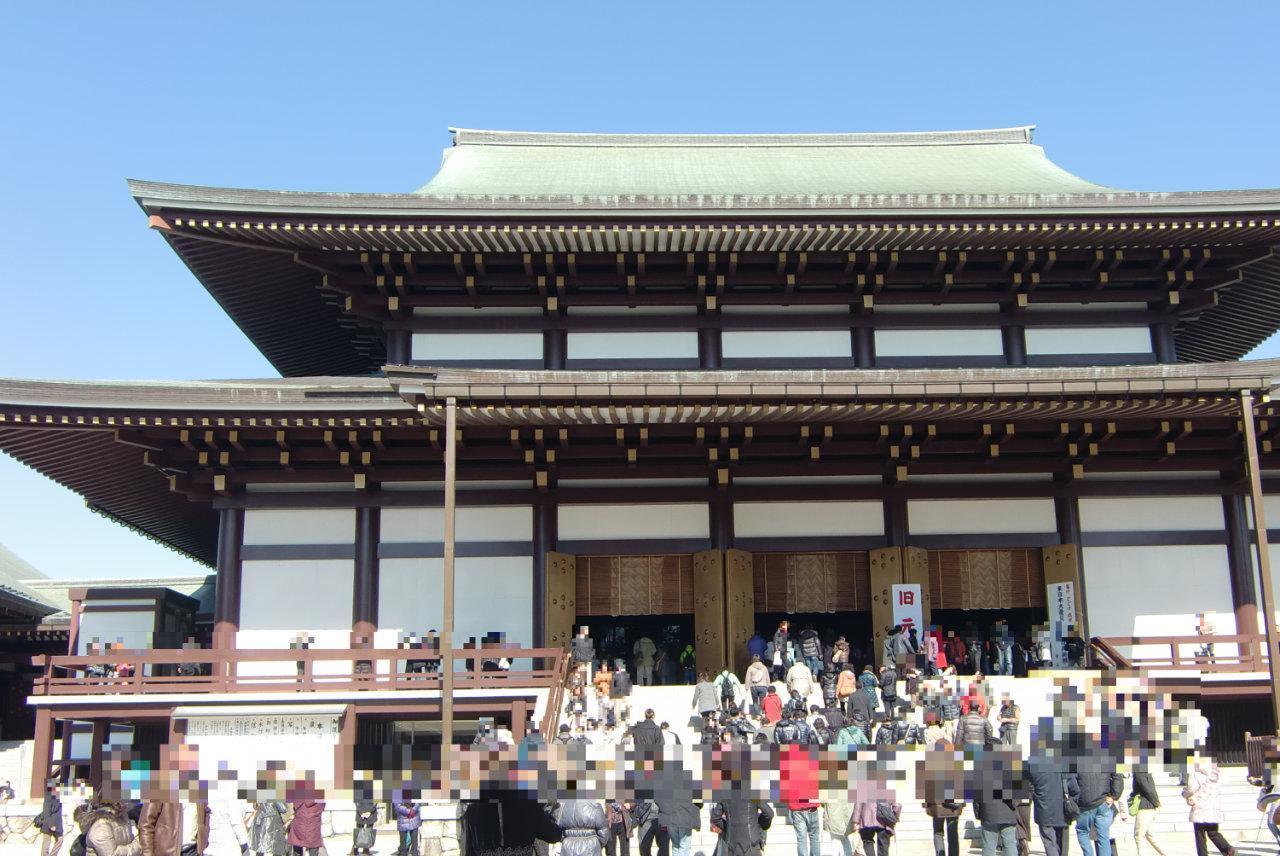 旧正月の成田山新勝寺